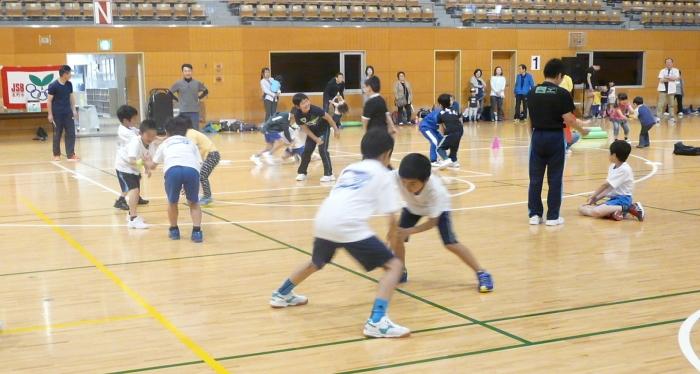 長野市スポーツ少年団運動適性テスト(前期)