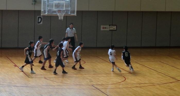 長野県スポーツ少年団競技別交流大会「ミニバスケットボール競技」