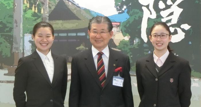 AASFアジアエージグループ選手権大会に出場された須藤美紅さん・藤原茉那さんの優勝報告