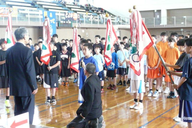 長野県スポーツ少年団北信地区競技別交流大会「ミニバスケットボール競技」