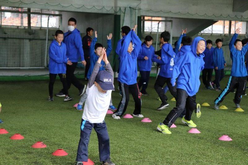 スポーツ少年団清掃・美化&PR活動