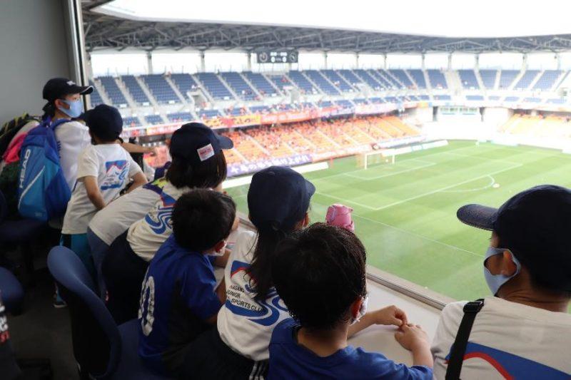 長野市スポーツ少年団「地域密着型プロスポーツチーム(AC長野パルセイロ)との交流事業」を実施しました