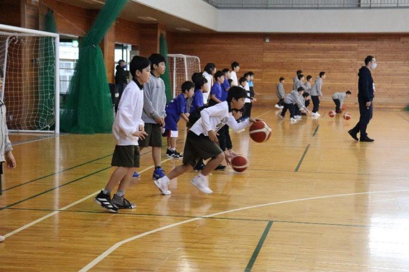 長野市スポーツ少年団「地域密着型プロスポーツチーム(信州ブレイブウォリアーズ)との交流事業」を実施しました