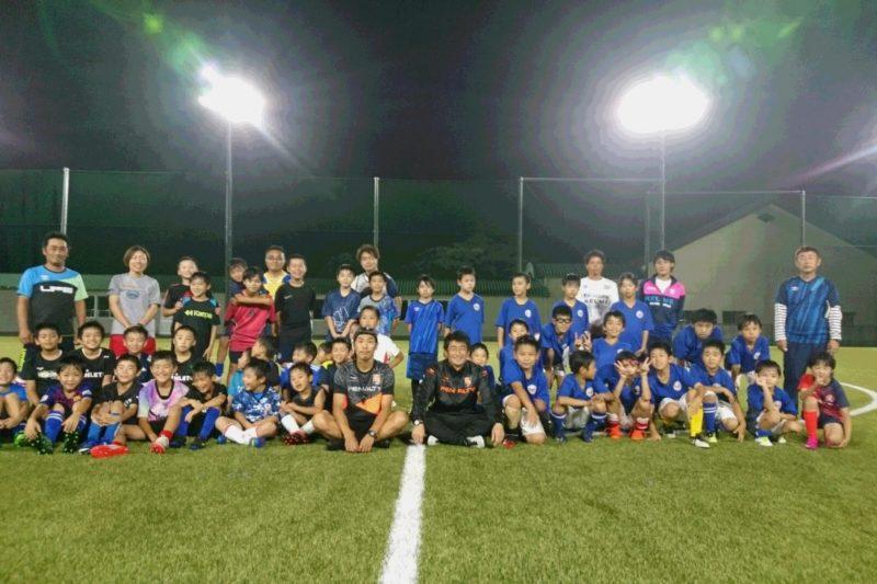 長野市スポーツ少年団「地域密着型プロスポーツチーム(AC長野パルセイロ)との交流事業【出張講習】」を実施しました