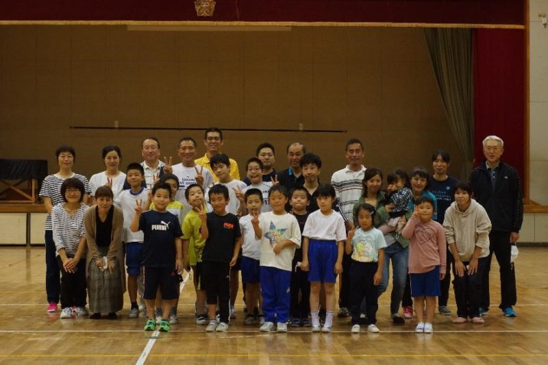 長野市スポーツ少年団「地域密着型プロスポーツチーム(信州ブレイブウォリアーズ)との交流事業【出張講習】」を実施しました